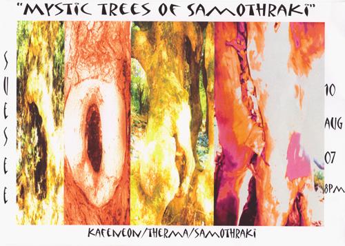 samothraki trees