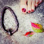 Autum still has leaves