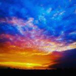 Colorful magic skies